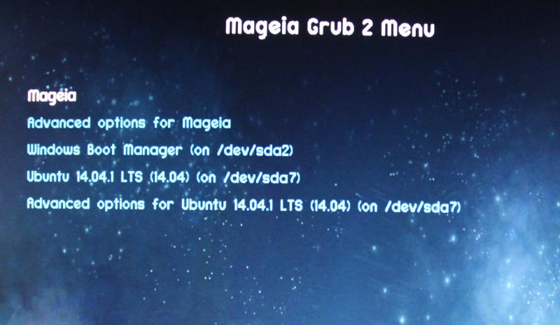 Grub2-efi and Mageia - Mageia wiki