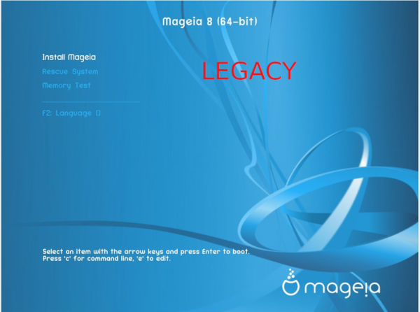 Installing on systems with UEFI firmware - Mageia wiki