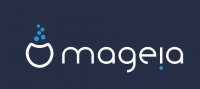 Official Mageia logo, dark background, PNG format, 984 x 440 px, 17.5 kB